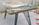 Table basse formica vintage, Eugène Delacroix, années 50, pieds Eiffel