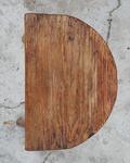 Tabouret porte port tripode bois vintage années 60