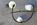 Suspension lustre Maison Arlus, vintage, années 50