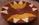 Panier tressé bingo africain rouille ocre jaune et crème