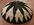 corbeille tribale, fibres tressées, noir et blanc, africain, décor mural ethnique