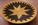 Plat tressé noir et ocre jaune, ethnique, tribal, africain, Boswana