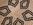 Panier tressé crème, motif géométriques noirs, tribal, ethnique, africain, mural