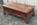 table basse bois chinoise, Pier Import, années 80, bois, 4 tiroirs, bois massif