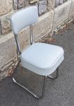 Chaise industrielle, Bauhaus, moderniste, vintage, années 60