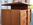 Commode, meuble de rangement à tiroirs, vintage, années 50